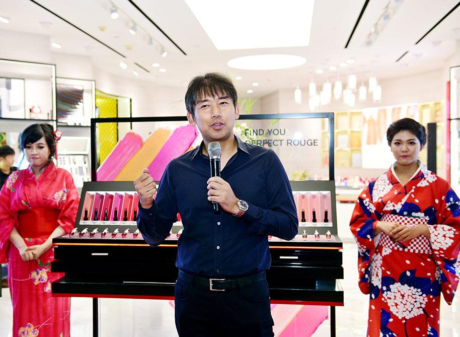 Tổng giám đốc Shiseido Việt Nam