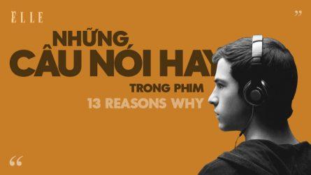 Những câu nói hay trong phim 13 reasons why