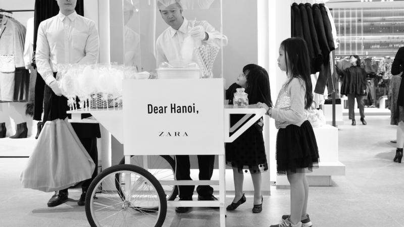 Dear Hà Nội, cửa hàng Zara đã chính thức khai trương ở Thủ Đô