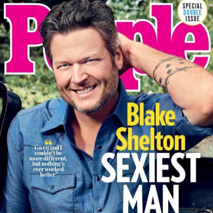 """Blake Shelton là """"Người đàn ông quyến rũ nhất thế giới"""" - ELLE Việt Nam"""