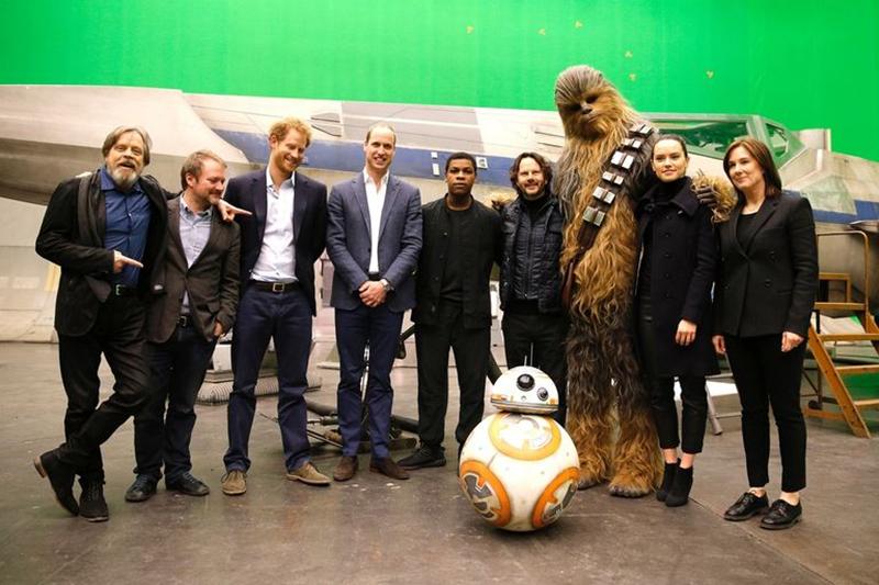 Bộ đôi Hoàng tử Harry và William chính thức xuất hiện trong bom tấn Star Wars: Jedi cuối cùng