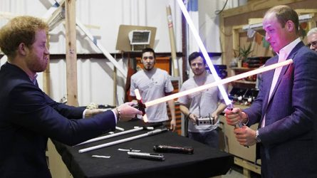 Bộ đôi Hoàng tử Harry và William được xác nhận sẽ xuất hiện trong bom tấn Star Wars: Jedi cuối cùng