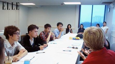 Tổng quan buổi hướng dẫn Top 3 cuộc thi ELLE Design Contest tại trường Đại học RMIT