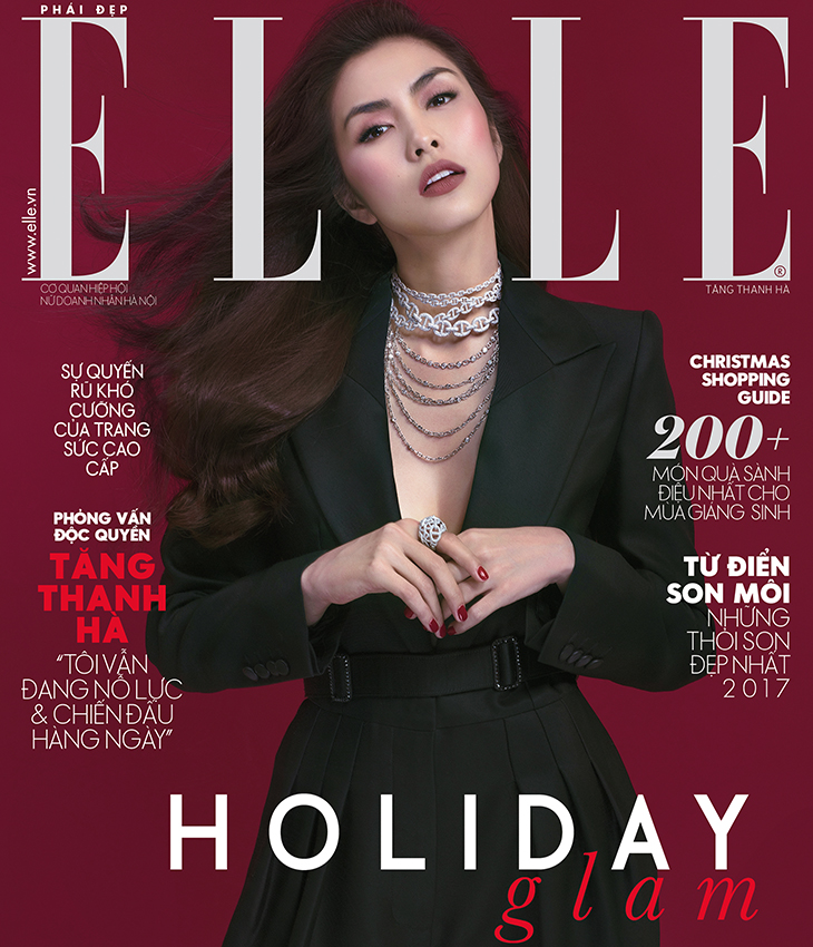 ELLE tháng 12/2017 - Holiday Glam