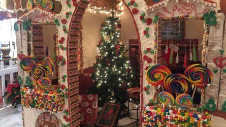 Ngôi Nhà Bánh Gừng khổng lồ: Món quà ý nghĩa mùa Giáng sinh từ khách sạn Fortuna Hà Nội