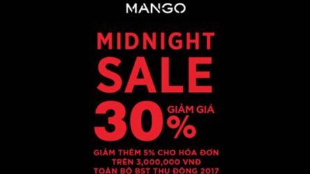 MANGO: Black Friday Promotion từ ngày 22 đến 26/11 + Midnight Sale giảm giá giờ vàng từ 10PM – 12AM ngày 24 và 25/11