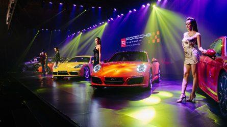 Porsche Việt Nam và đêm tiệc âm nhạc ánh sáng kỷ niệm 10 năm chặng đường