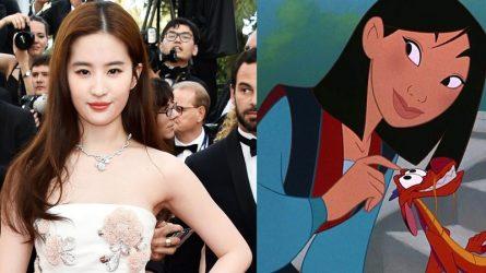 Lưu Diệc Phi chính thức trở thành nữ anh hùng Mulan