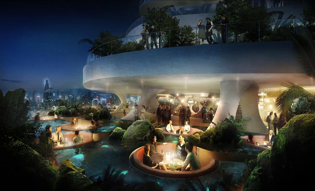Vườn địa đàng ở Hồ Chí Minh, tham vọng về lối kiến trúc bền vững có quy mô lớn tại Việt Nam