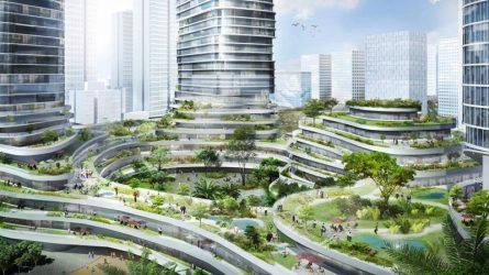 Vườn địa đàng ở Hồ Chí Minh, tham vọng về lối kiến trúc