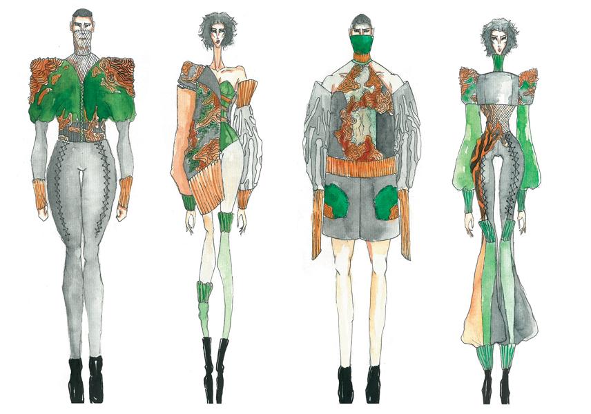 Nhà thiết kế Nguyễn Công Trí đối thoại cùng Top 3 cuộc thi ELLE Design Contest