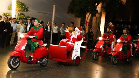 Ấm áp đêm thắp sáng cây thông Noel tại JW Marriott Hà Nội