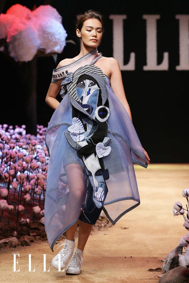 """NTK Võ Công Khanh mang đến sự tươi vui với BST """"Giấc mơ của Lily"""" tại ELLE Fashion Show"""