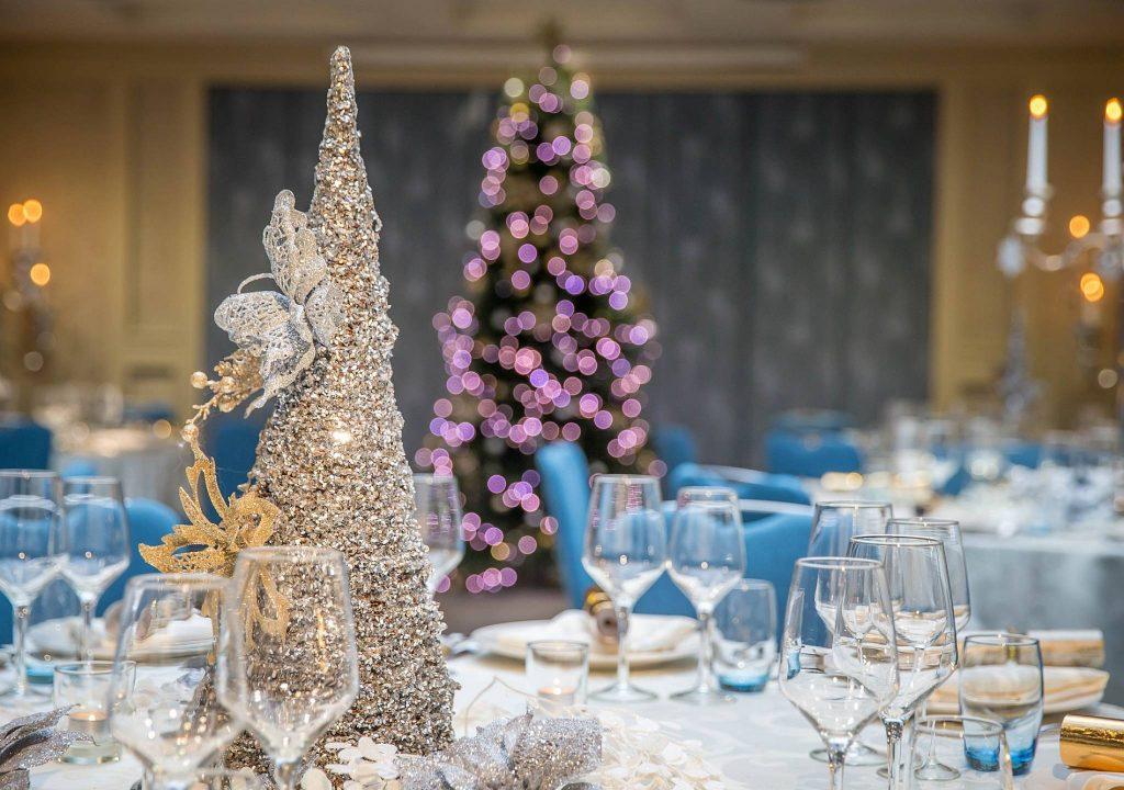 tiệc buffet Giáng sinh