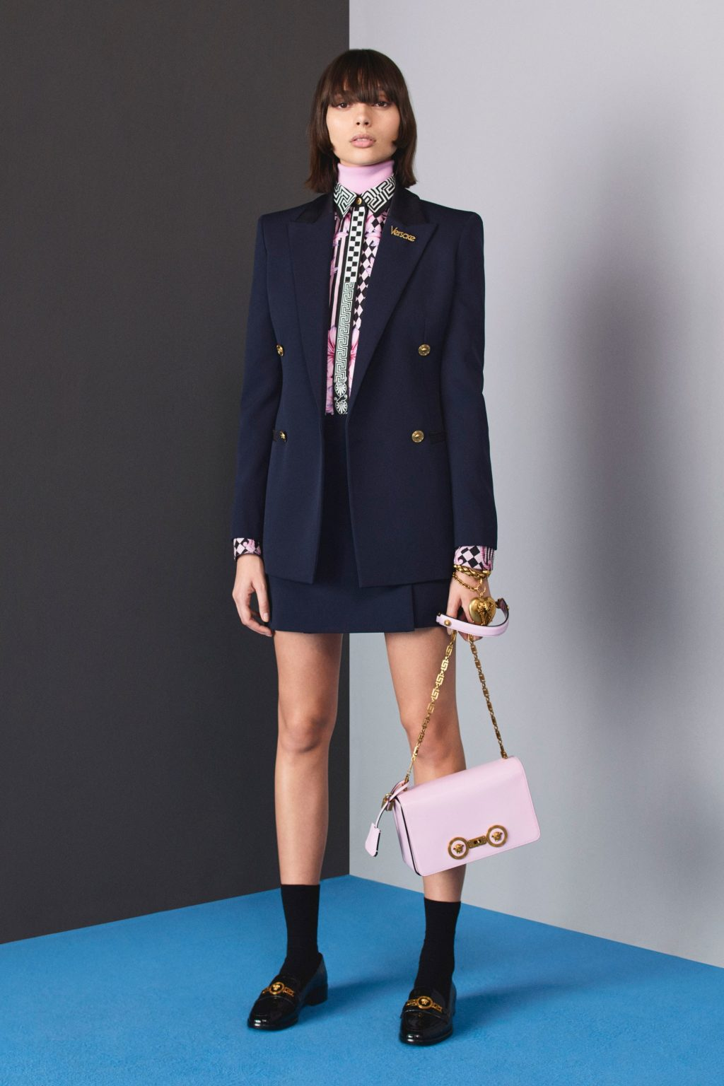 bộ sưu tập mùa thu Versace