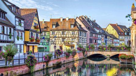 Du lịch châu Âu: Làng mạc mơ màng