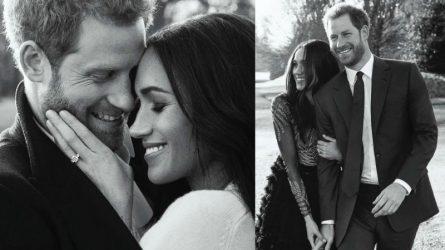 Hoàng tử Harry và Meghan tiết lộ bộ ảnh đính hôn chính thức