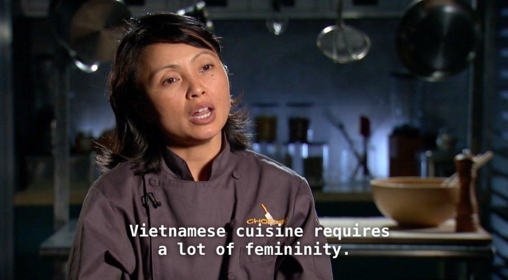 niềm đam mê ẩm thực của Lê Thị Hiệp