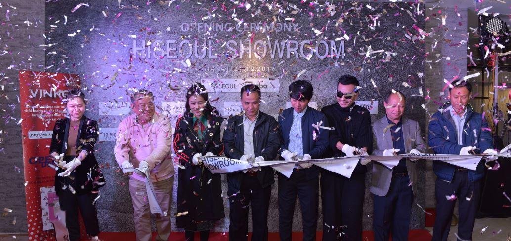 Lễ khai trương Hiseoul Showroom vừa diễn ra tại Tràng Tiền Plaza