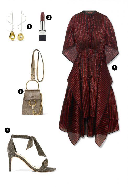 1.LEIGH MILLER 2. Dior 3. PETAR PETROV 4. ALEXANDRE BIRMAN 5. Chloe 6. Phillip Lim