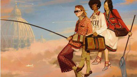 Chiến dịch quảng cáo Gucci Xuân-Hè 2018: Thế giới siêu thực giữa thời trang và hội họa