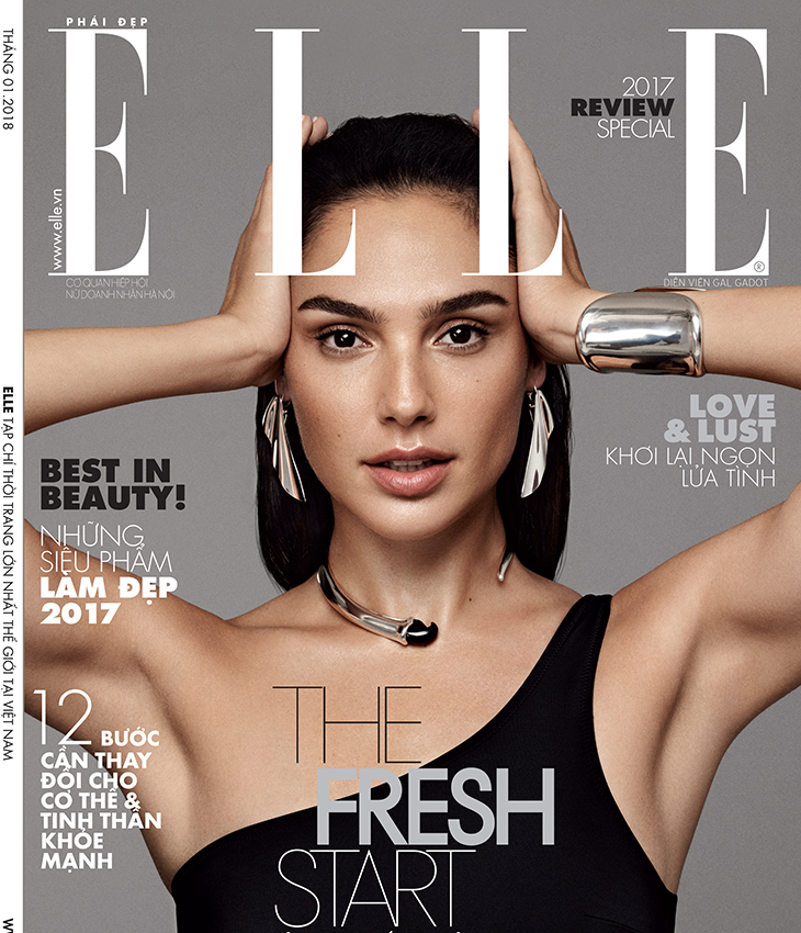 ELLE tháng 1/2018 - The Fresh Start
