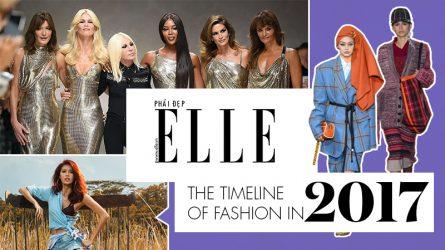Điểm lại 100 sự kiện nổi bật của làng thời trang năm 2017