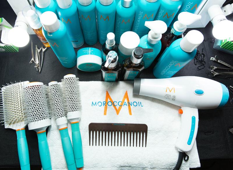 moroccanoil cách tạo kiểu tóc cổ điển bộ sản phẩm