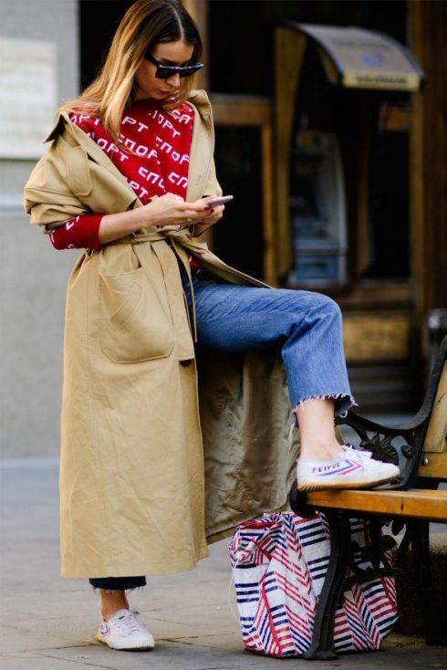 Cập nhật cách để phối trang phục cùng sneakers theo xu hướng thời trang 2018