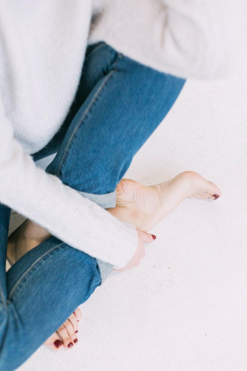 cách trị da khô bàn chân