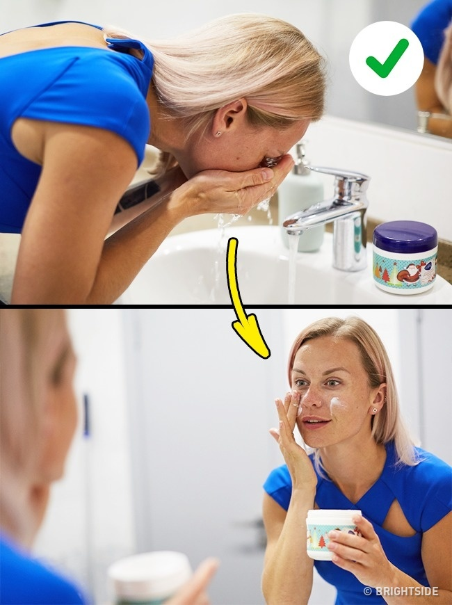 bí quyết làm đẹp cách rửa mặt