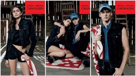 Kaia và Presley Gerber mở đầu năm mới cực sành điệu với chiến dịch quảng cáo của Calvin Klein