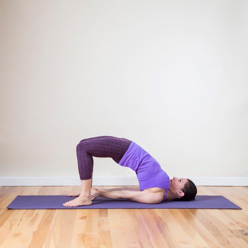 bài tập yoga đơn giản 4
