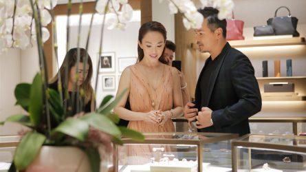 Lý Minh Thuận - Phạm Văn Phương xuất hiện trong buổi lễ khai trương cửa hàng Cartier tại TP.HCM