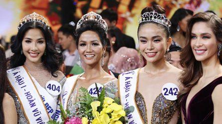 Cùng nhìn lại cuộc hành trình đáng nhớ của top 3 Hoa hậu Hoàn vũ Việt Nam 2017