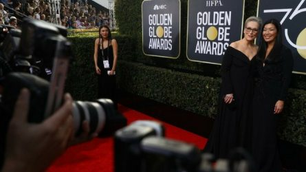 Trên thảm đỏ Quả Cầu Vàng 2018, các ngôi sao nghĩ gì về quấy rối tình dục?