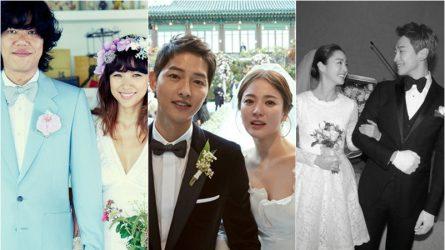 Điểm danh 6 cặp đôi sao Hàn hot nhất năm 2017