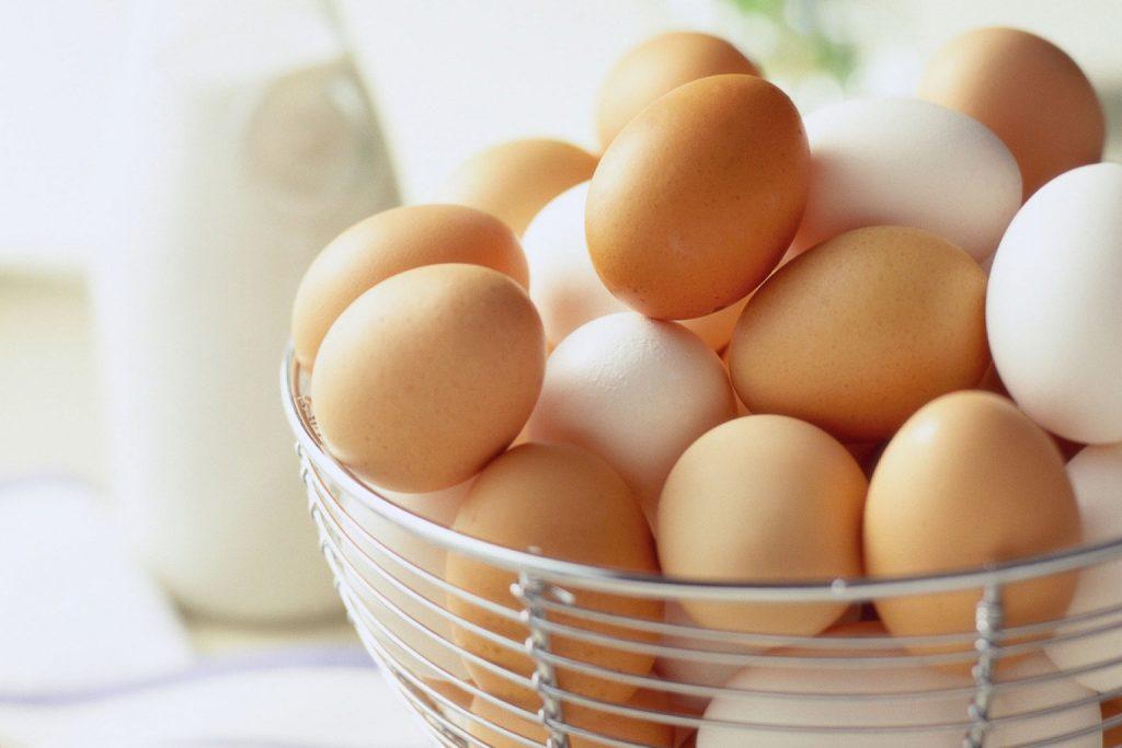 trứng gà thực đơn low carb