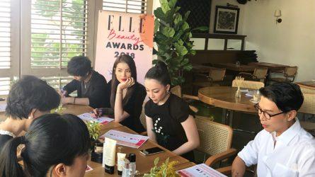[ELLE Beauty Awards 2018] Ban cố vấn đã có lựa chọn sản phẩm yêu thích nhất
