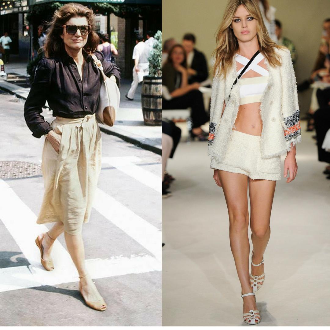 Sự trỗi dậy của xu hướng ''60s sandals'' lấy cảm hứng từ biểu tượng thời trang Jackie Kennedy