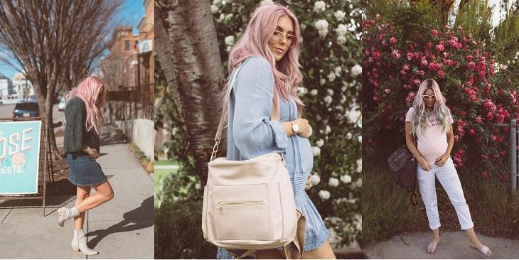ELLE Việt Nam - Thời trang bầu của fashionista thế giới có gì đặc biệt (2)