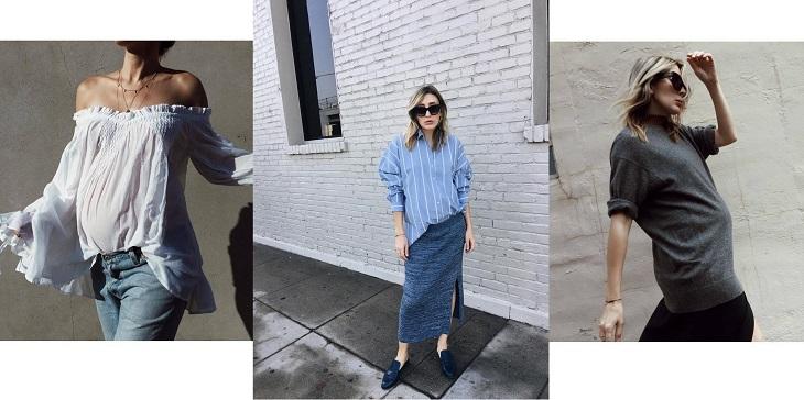 ELLE Việt Nam - Thời trang bầu của fashionista thế giới có gì đặc biệt (4)