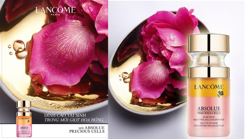 Absolue Rose Drop Night Peeling Concentrate Lancôme