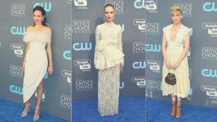 Tại sao các nữ diễn viên lại ưu tiên chọn trang phục màu trắng tại Lễ trao giải Critics Choice Awards?