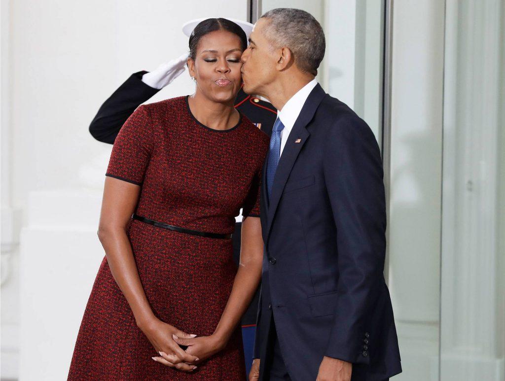 Vợ chồng cựu Tổng thống Mỹ Barack Obama