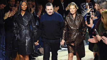 Kate Moss và Naomi Campbell bất ngờ sải bước trong show diễn cuối của Kim Jones tại Louis Vuitton