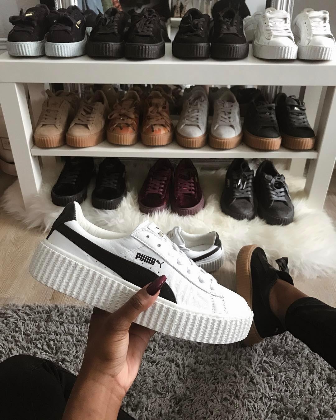Những cô nàng sở hữu tủ giày sneaker trong mơ của mọi cô gái