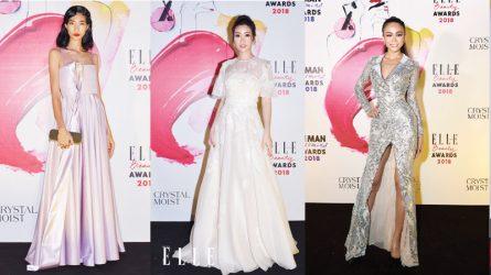 Top trang phục thảm đỏ đẹp nhất lễ trao giải ELLE Beauty Awards 2018