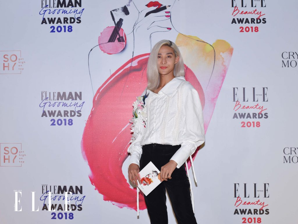 ELLE Beauty Awards 2018 trang điểm ấn tượng 11