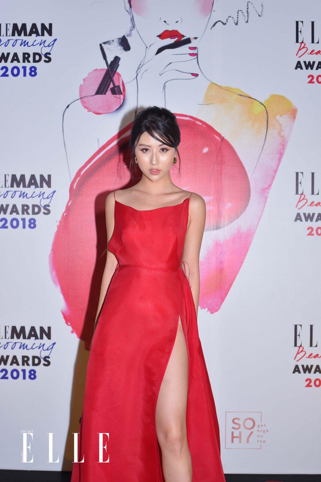 ELLE Beauty Awards 2018 trang điểm ấn tượng 2